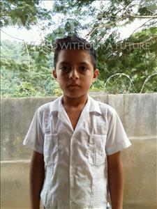 Choose a child to sponsor, like this little boy from Maya, Angel Eduardo age 8