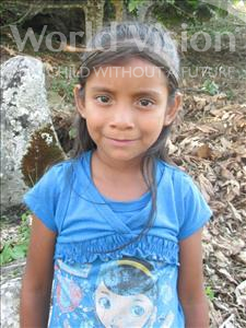 Choose a child to sponsor, like this little girl from Maya, Heymi Suleydi age 9