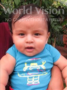Choose a child to sponsor, like this little boy from Maya, Yeferson Alexander age 1