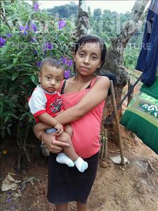 Choose a child to sponsor, like this little boy from Maya, Yunior Medardo age 1