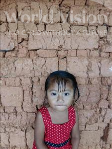 Choose a child to sponsor, like this little girl from Maya, Breylin Lissenia age 3
