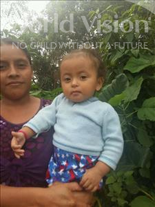 Choose a child to sponsor, like this little girl from Maya, Angie Grisel age 1