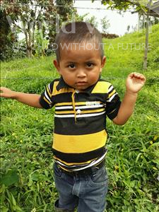 Choose a child to sponsor, like this little boy from Maya, Nolvin Jose age 3