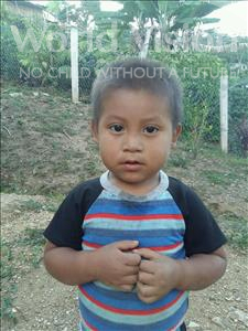 Choose a child to sponsor, like this little boy from Maya, Alex Mauricio age 3