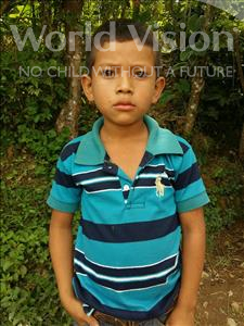 Choose a child to sponsor, like this little boy from Maya, Celio Francisco age 8