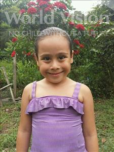 Choose a child to sponsor, like this little girl from Maya, Arlet Samai age 6