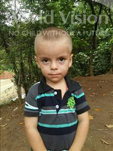 Choose a child to sponsor, like this little boy from Maya, Oscar Noe age 3