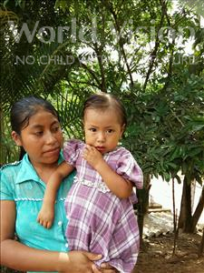 Choose a child to sponsor, like this little girl from Maya, Florinda age 2