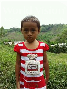 Choose a child to sponsor, like this little girl from Maya, Lilian Aracely age 5