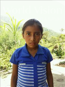 Choose a child to sponsor, like this little girl from Maya, Sandra Esperanza age 9