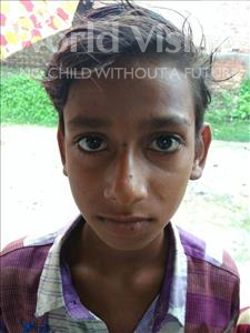 Vikesh, aged 10, from India, is hoping for a World Vision sponsor