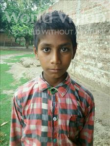 Choose a child to sponsor, like this little boy from Bhojpur, Vikash age 11