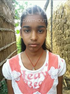 Choose a child to sponsor, like this little girl from Bhojpur, Ranju age 11