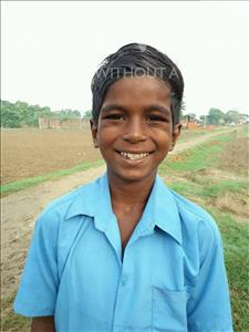 Choose a child to sponsor, like this little boy from Bhojpur, Manish age 8