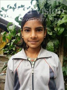 Choose a child to sponsor, like this little girl from Bhojpur, Chanda age 10