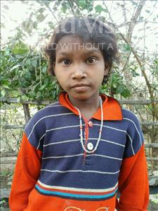 Choose a child to sponsor, like this little girl from Bhojpur, Patasi age 8