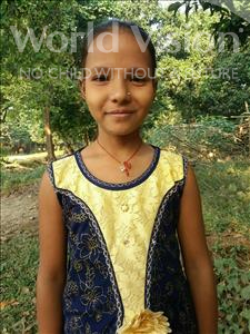 Choose a child to sponsor, like this little girl from Bhojpur, Nishu age 10