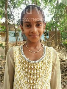 Choose a child to sponsor, like this little girl from Bhojpur, Neha age 11