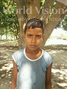 Choose a child to sponsor, like this little boy from Bhojpur, Sagar age 8