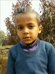 Choose a child to sponsor, like this little boy from Bhojpur, Kallu age 6