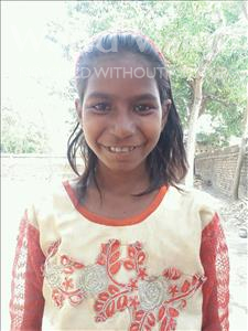 Choose a child to sponsor, like this little girl from Bhojpur, Kajal age 10
