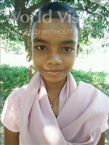 Choose a child to sponsor, like this little girl from Bhojpur, Sabana age 11