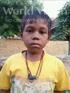 Choose a child to sponsor, like this little boy from Bhojpur, Sanjit age 6
