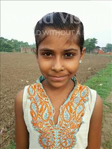 Choose a child to sponsor, like this little girl from Bhojpur, Rupjhari age 10