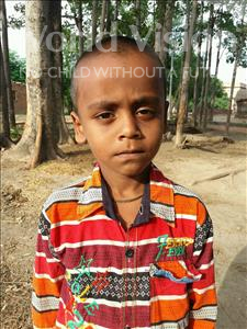 Choose a child to sponsor, like this little boy from Bhojpur, Raj age 6