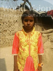 Choose a child to sponsor, like this little girl from Bhojpur, Roshani age 10
