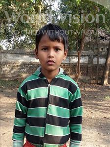 Choose a child to sponsor, like this little boy from Bhojpur, Pintu age 9
