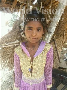 Choose a child to sponsor, like this little girl from Bhojpur, Savita age 8