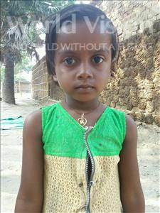 Choose a child to sponsor, like this little girl from Bhojpur, Sonam age 6