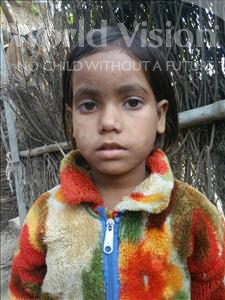 Choose a child to sponsor, like this little girl from Bhojpur, Anjali age 6