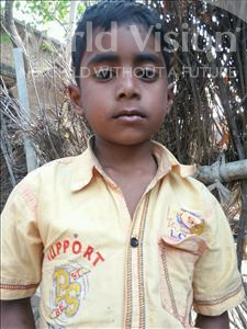 Choose a child to sponsor, like this little boy from Bhojpur, Aditya age 7