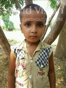 Choose a child to sponsor, like this little girl from Bhojpur, Anamika age 10