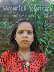 Kumari, aged 7, from India, is hoping for a World Vision sponsor