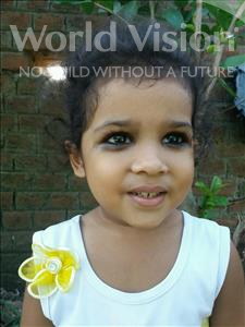Choose a child to sponsor, like this little girl from Bhojpur, Kumari age 3