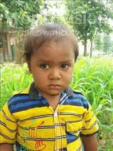 Choose a child to sponsor, like this little boy from Bhojpur, Kumar age 2