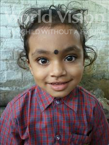 Choose a child to sponsor, like this little boy from Bhojpur, Purab age 3