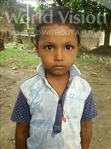 Choose a child to sponsor, like this little boy from Bhojpur, Arif age 5