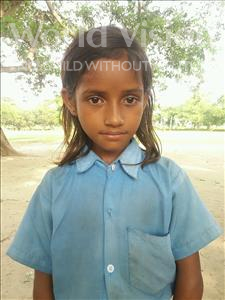 Choose a child to sponsor, like this little girl from Bhojpur, Rinki age 6
