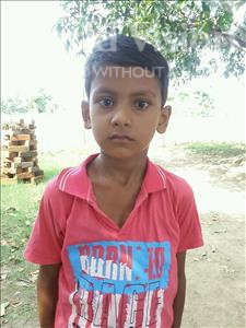 Choose a child to sponsor, like this little boy from Bhojpur, Akash age 6