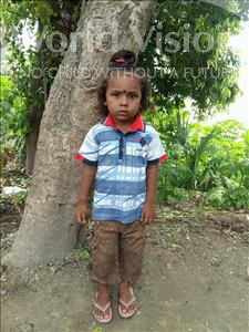 Choose a child to sponsor, like this little boy from Bhojpur, Raj age 3