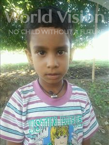 Choose a child to sponsor, like this little boy from Bhojpur, Krishu age 5