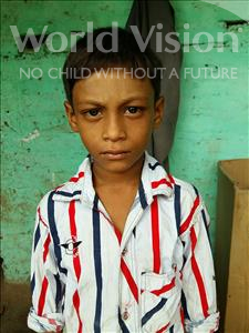 Choose a child to sponsor, like this little boy from Patna, Dhiraj age 7