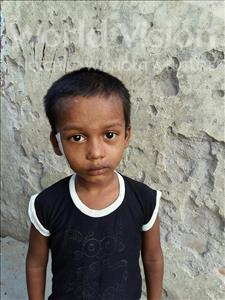 Choose a child to sponsor, like this little boy from Patna, Rajeev age 5