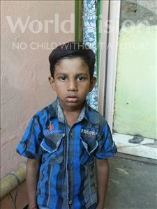 Choose a child to sponsor, like this little boy from Patna, Rehan age 8