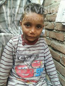 Choose a child to sponsor, like this little boy from Patna, Krishna age 6