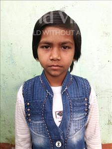Choose a child to sponsor, like this little girl from Patna, Deepika age 11